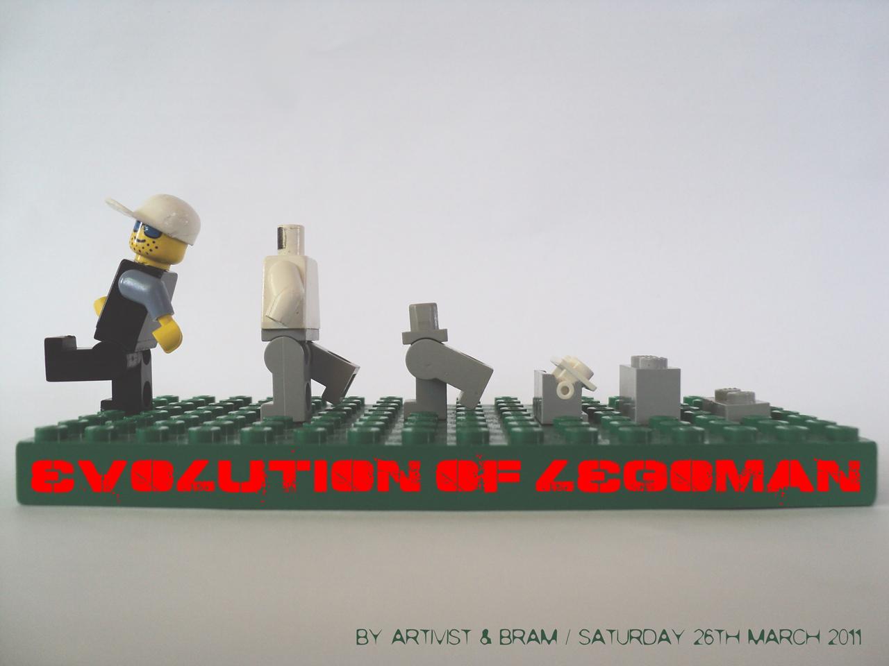 the evolution of legoman <<< Bram & ARTIVIST make