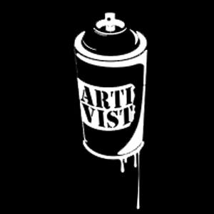 ARTIVIST : creative slogans / graphics & spray video intro <<<