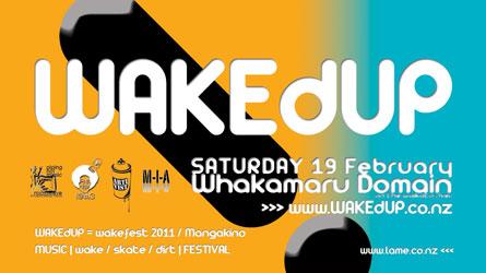WAKEdUP = wakefest 2011