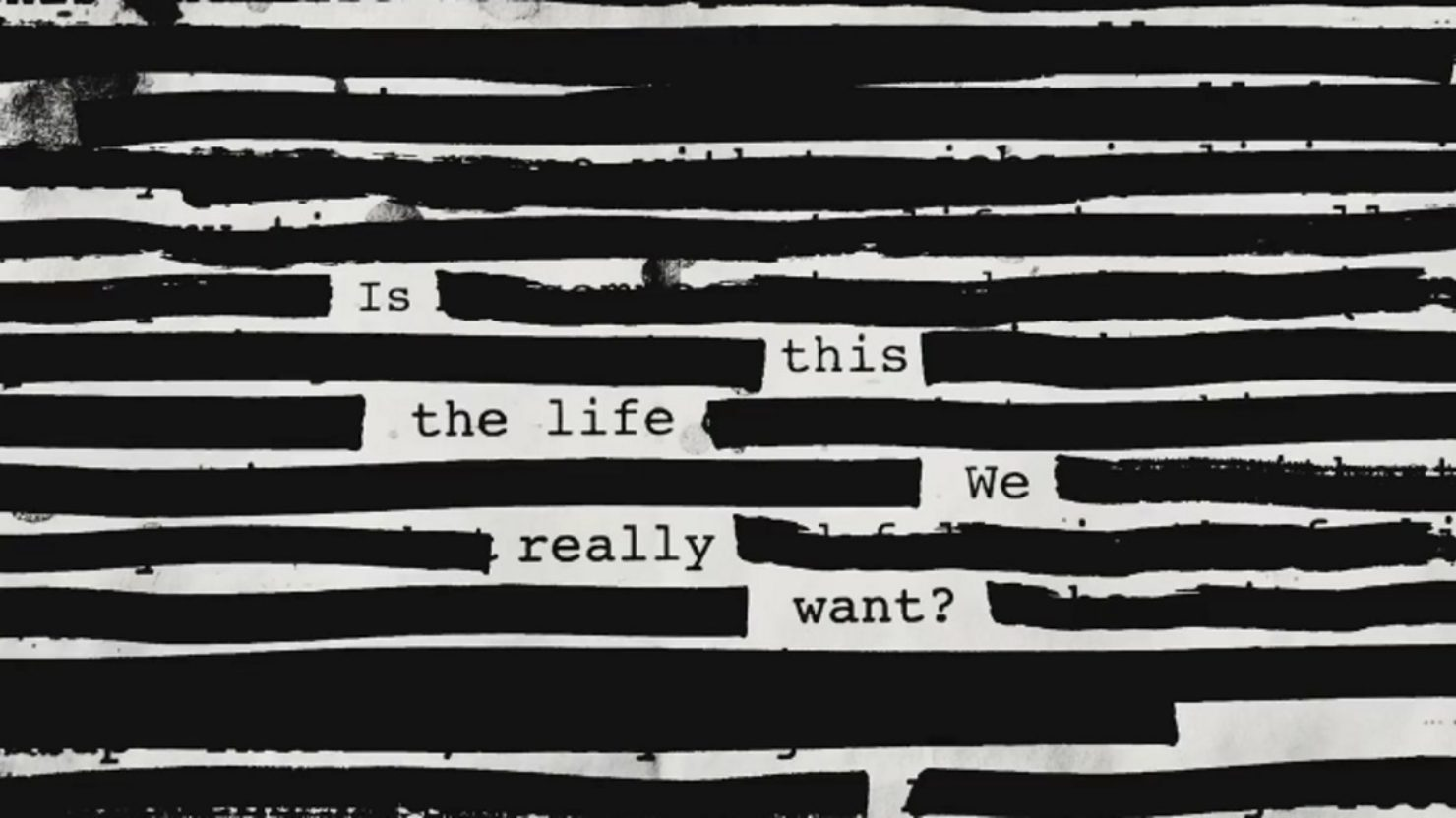 """Is This the Life We Really Want?""  The new album by Roger Waters Available Now"