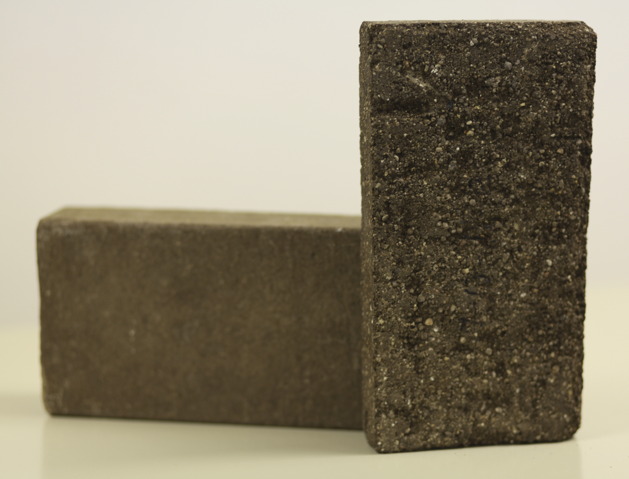 Bricks made from mine tailings