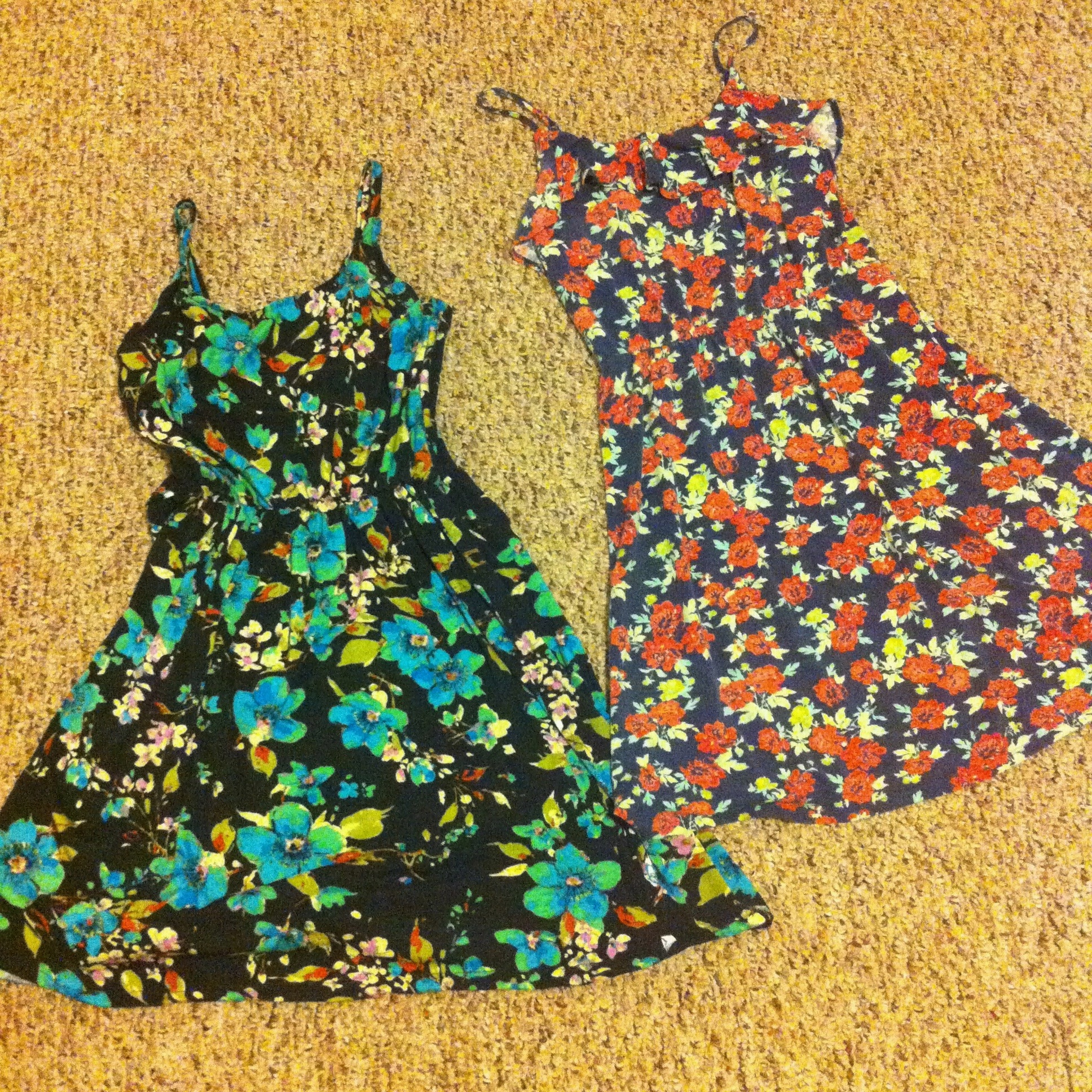 Left: My Version     Right: Target Spring 2013