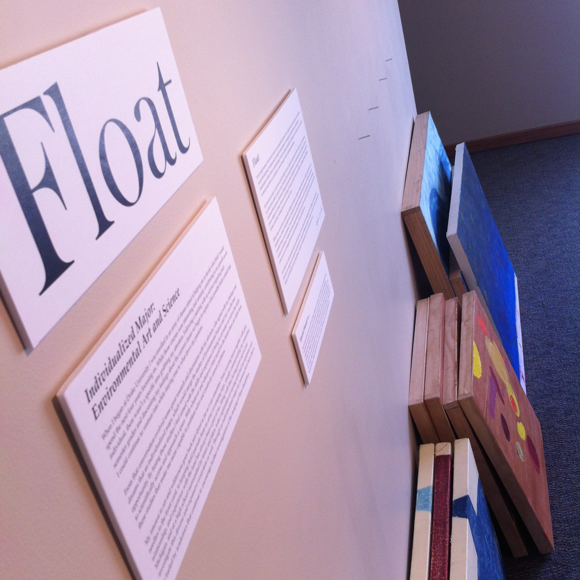 Float: Senior Capstone Show