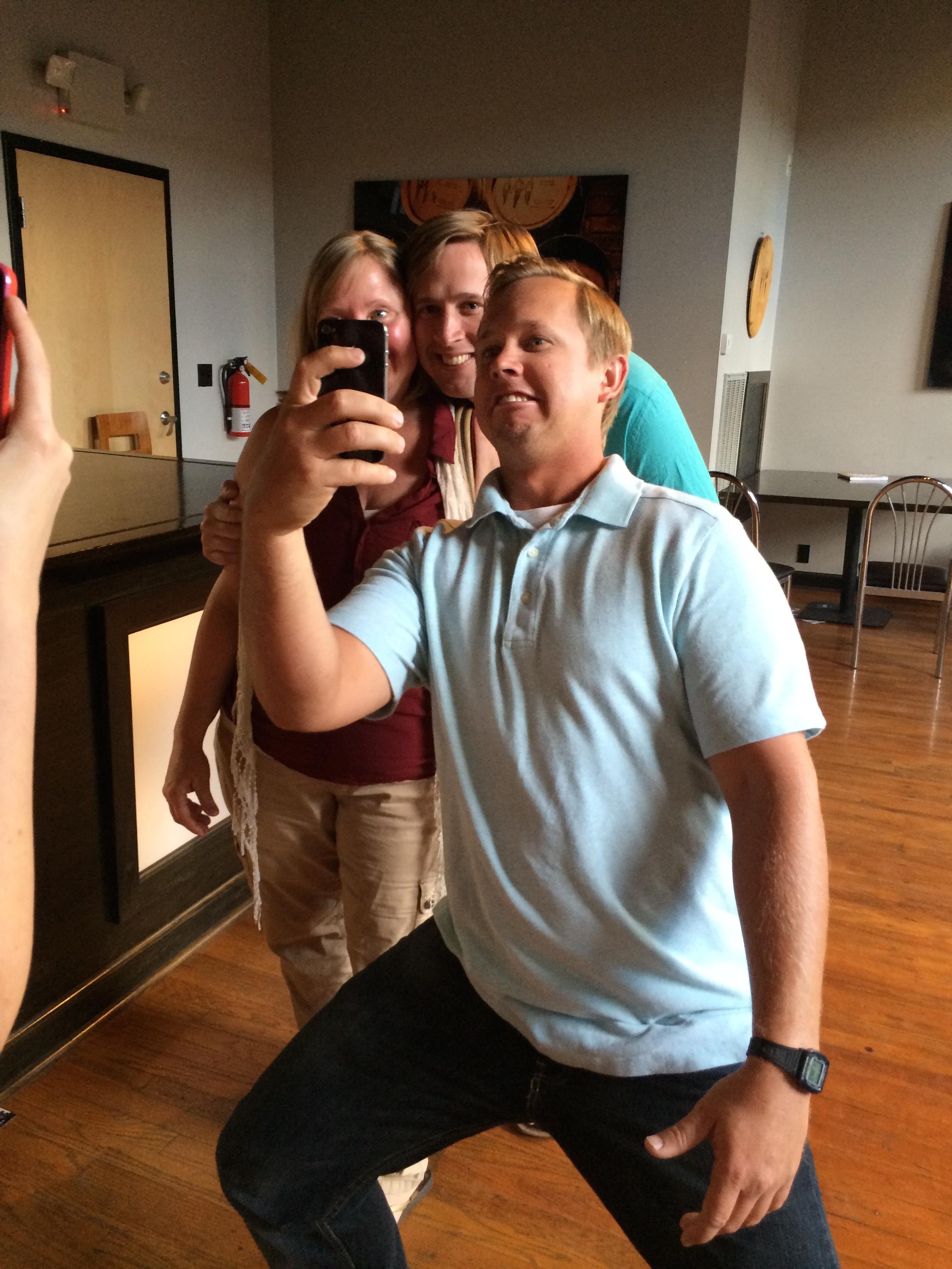 Corsair Distillery tour, tasting, and selfies