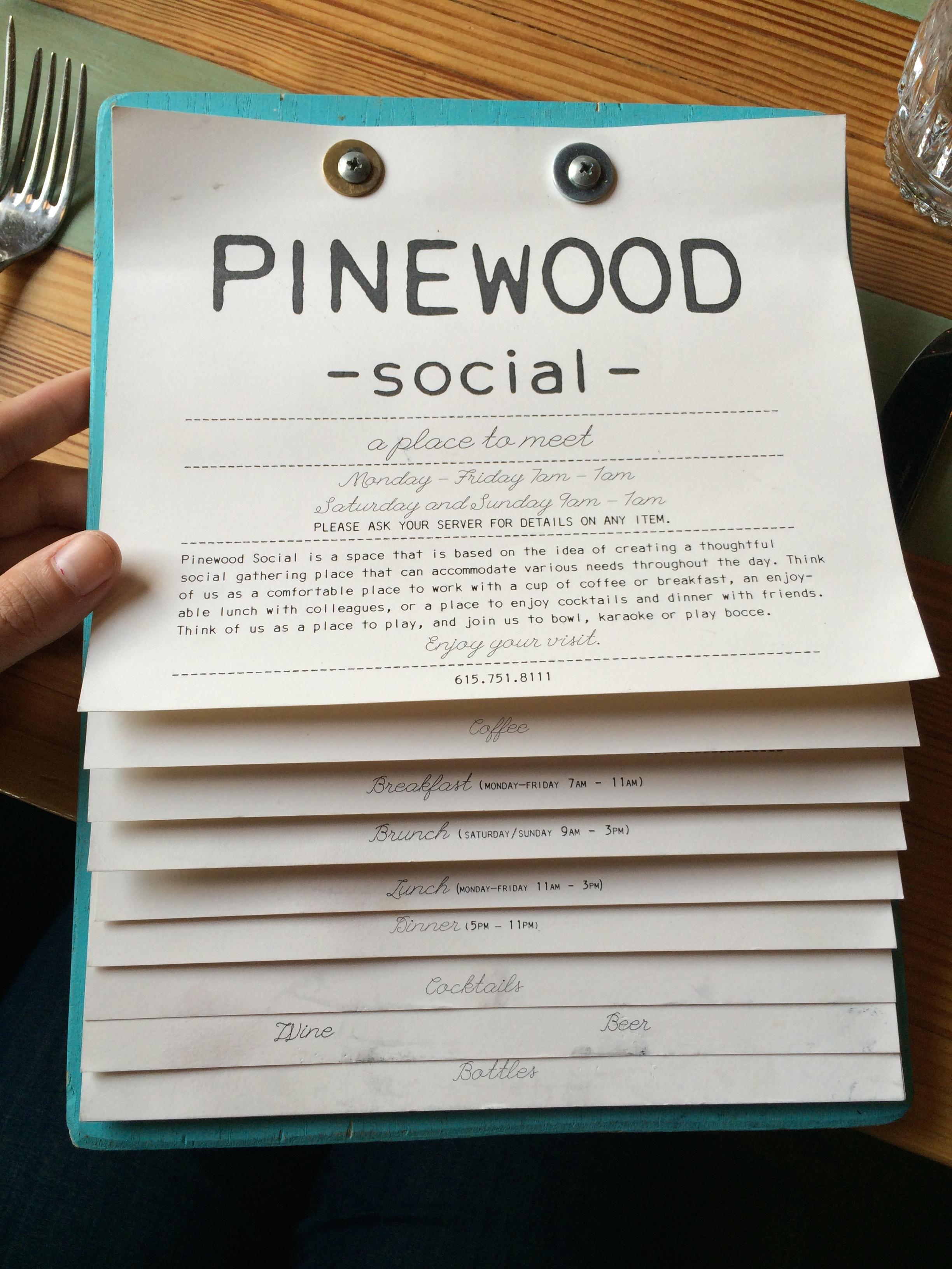 Pinewood Social!