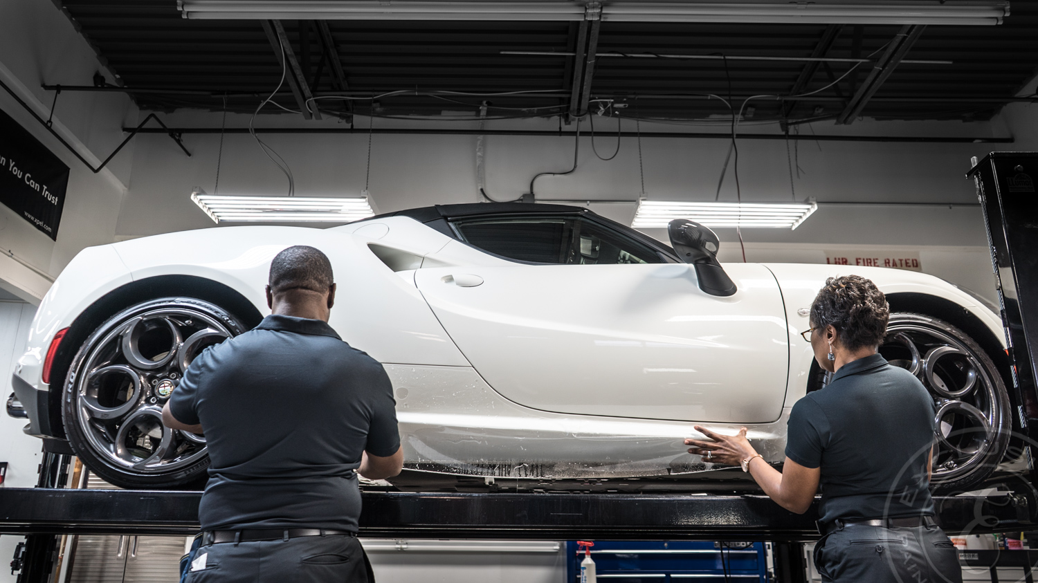 """- """"A Paint Protection Film is only as good as its installer."""""""
