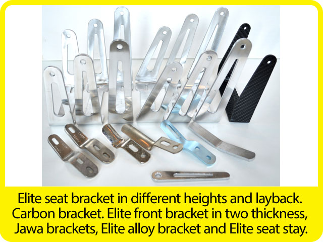 Elite-seat-bracket-in-different-heights-and-layback.-Carbon-bracket.-Elite-front-bracket-in-two-thickness,-Jawa-brackets,-Elite-alloy-bracket-and-Elite-seat-stay..jpg