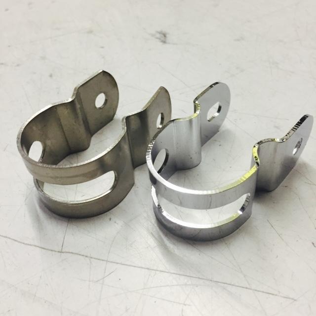 Elite lightweight tank clip stainless, chromed