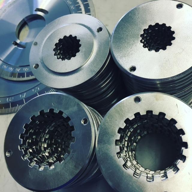Elite timing discs 240mm + 160mm, Jawa or GM centre