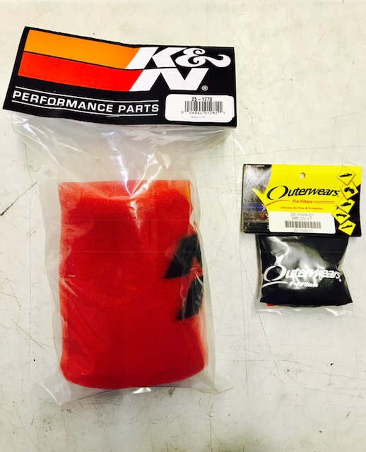K+N foam outer cover, Outerwear nylon