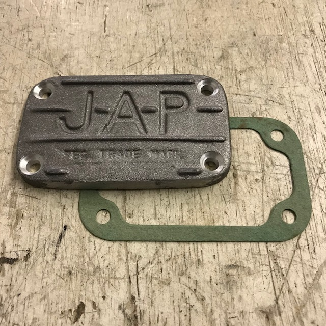Oil box cover and gasket