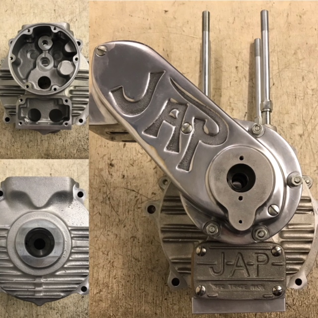 Crankcases, bare, with liners, bushes etc