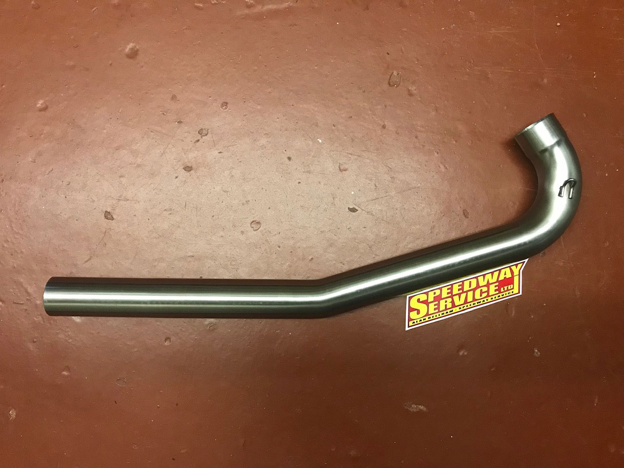 G7 shape stainless pipe 48mm GM and Jawa