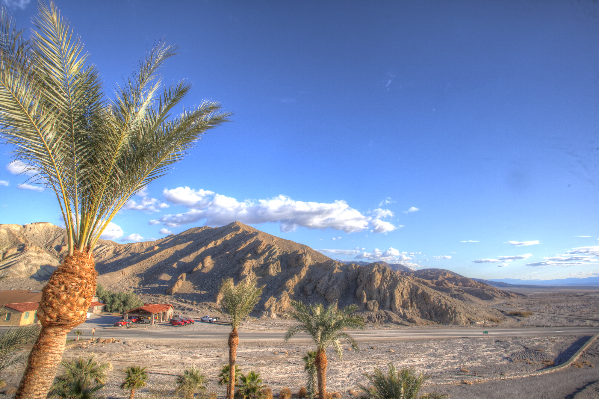 If the view from the rear Window of my room at Furnace Creek Inn in Death Valley can be this, imagine what kind of photographs we are going to make in expedition to Stovepipe well tomorrow.