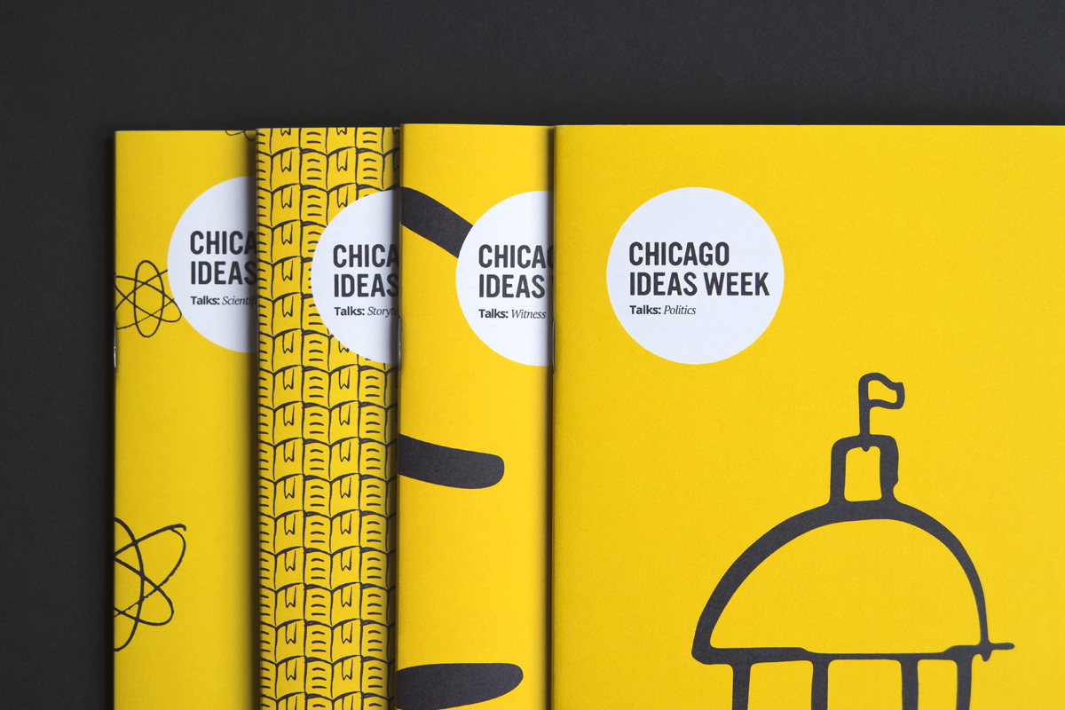 BOOKLETS DESIGNED WITH NICO GIBSON