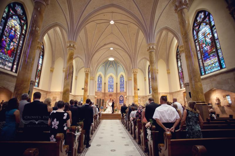 Scottish Rite Cathedral  Indianapolis Wedding Photography