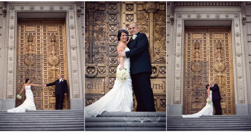 Scottish Rite Cathedral  Indianapolis Wedding Photography