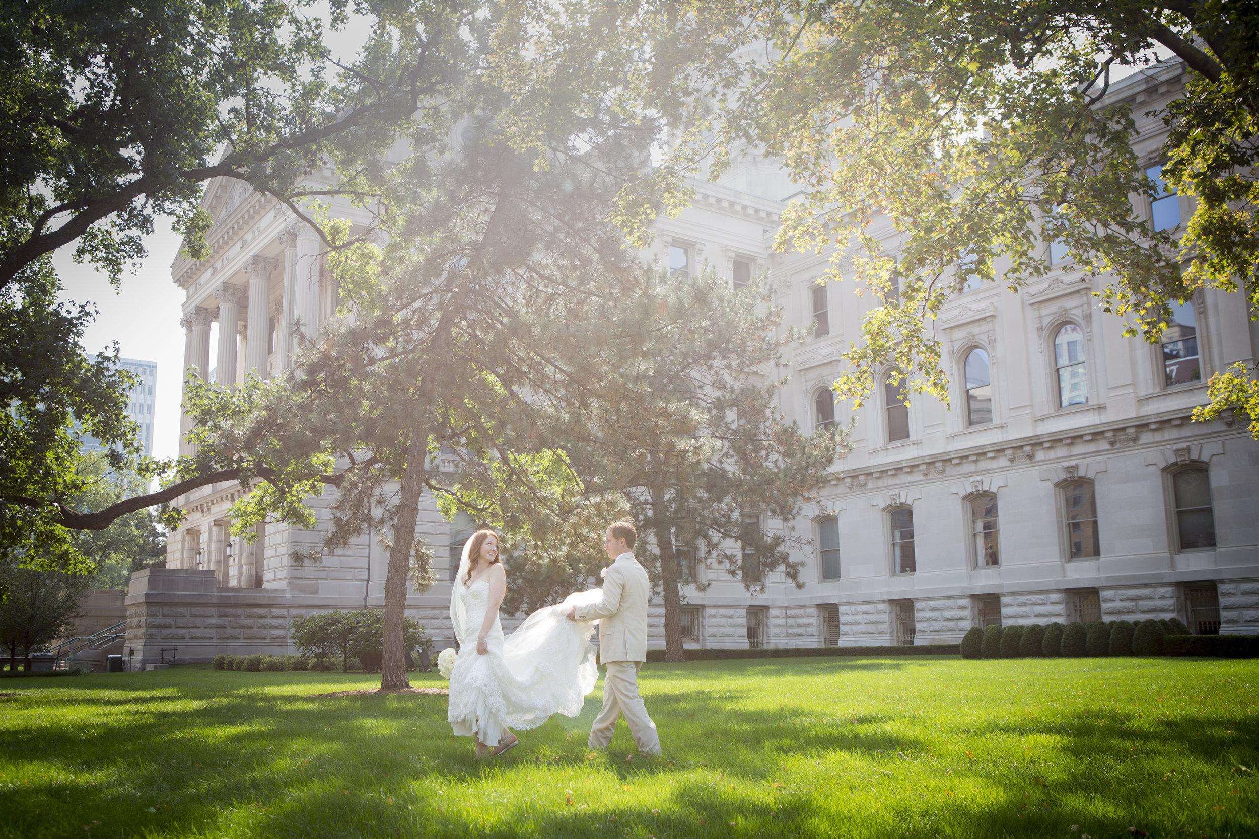 Indianapa State House Wedding