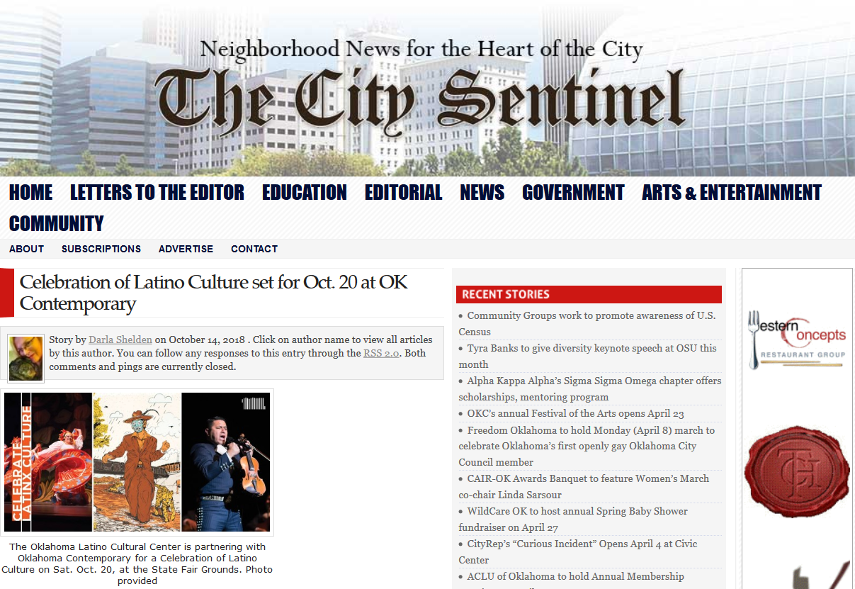 Screenshot_2019-04-09 Celebration of Latino Culture set for Oct 20 at OK Contemporary The City Sentinel.png