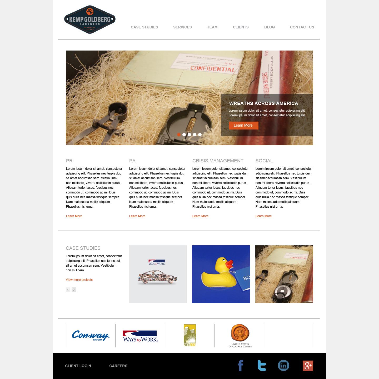 Alternative Home page