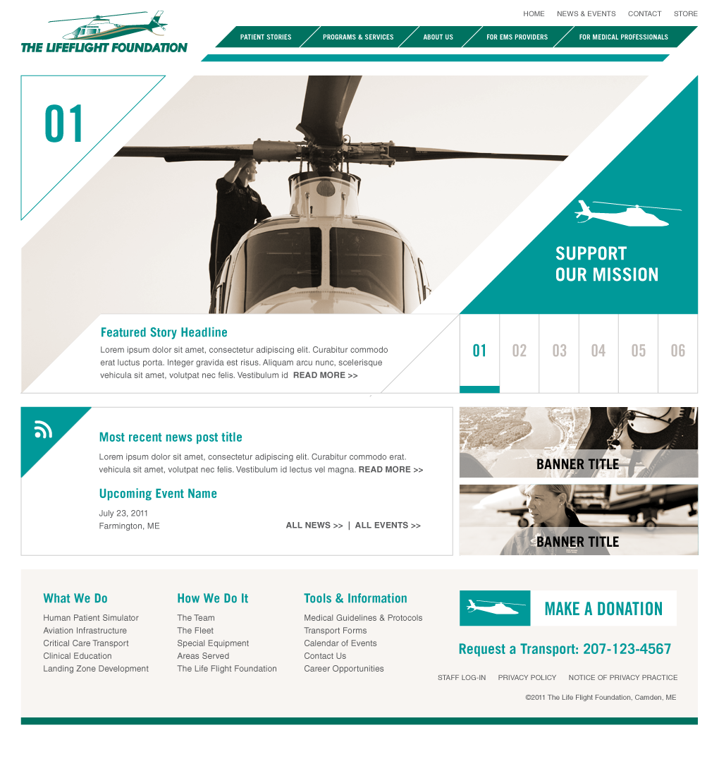 Home page 01
