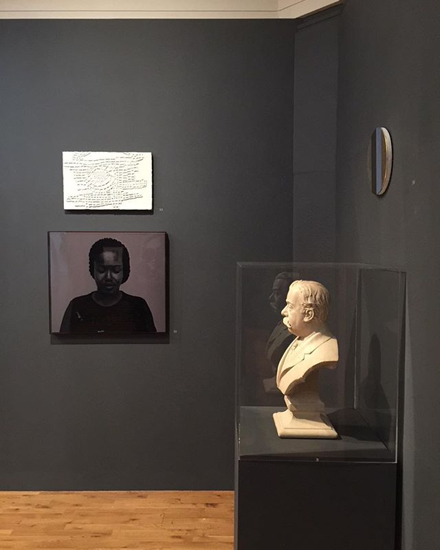 Installation view with my painting Dark Thoughts (Joan) 2006 in Heads Roll at Graves Gallery, Sheffield. Congratulations to curator @paulmorrisonstudio for a 5 star review of the show in the Guardian ⭐️⭐️⭐️⭐️⭐️💥 #groupshow #museumssheffield @museumssheffield