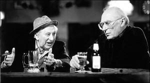 Studs Terkel and Mike Royko