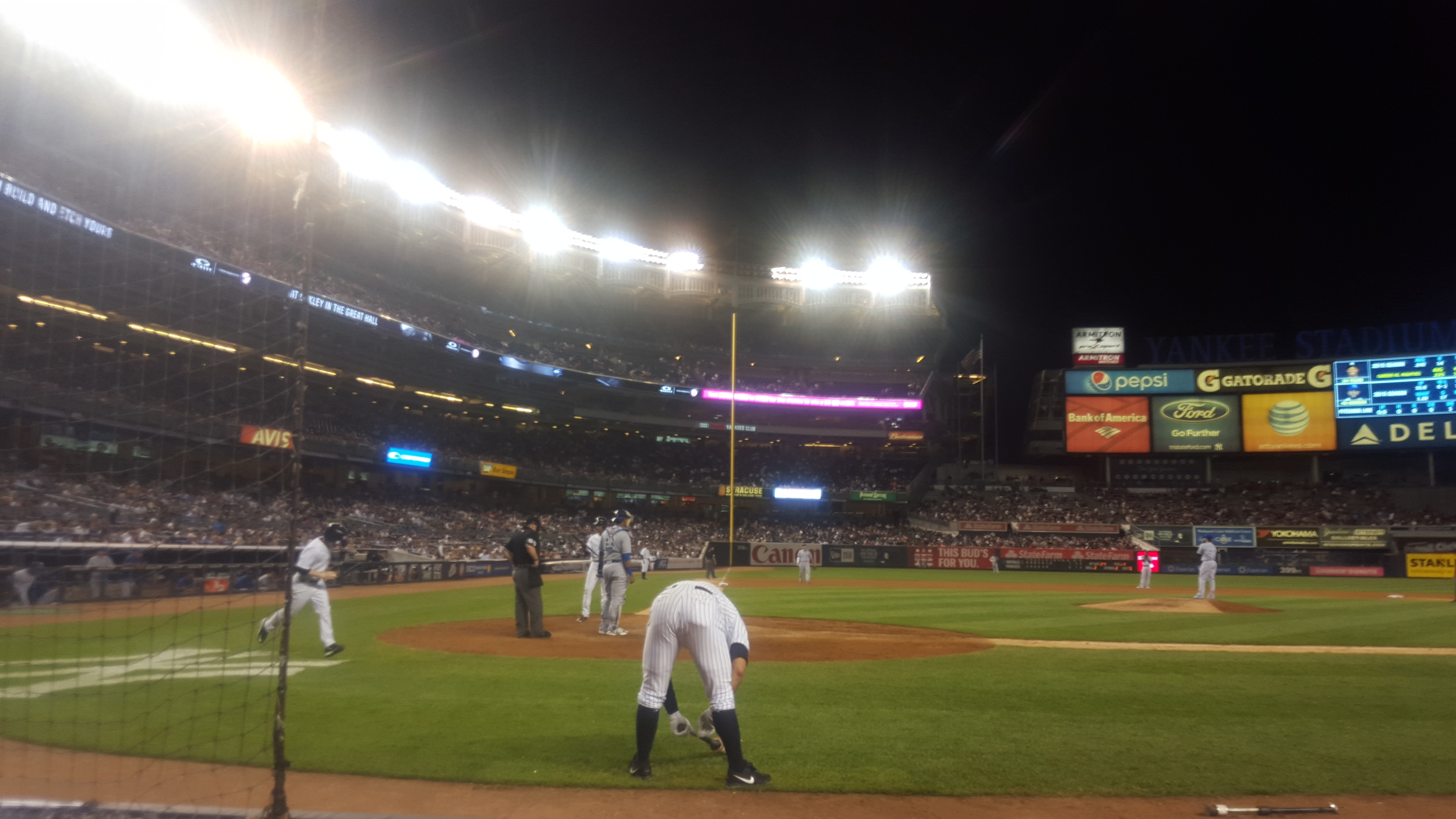 Alex Rodriguez shows his appreciation to the fans...