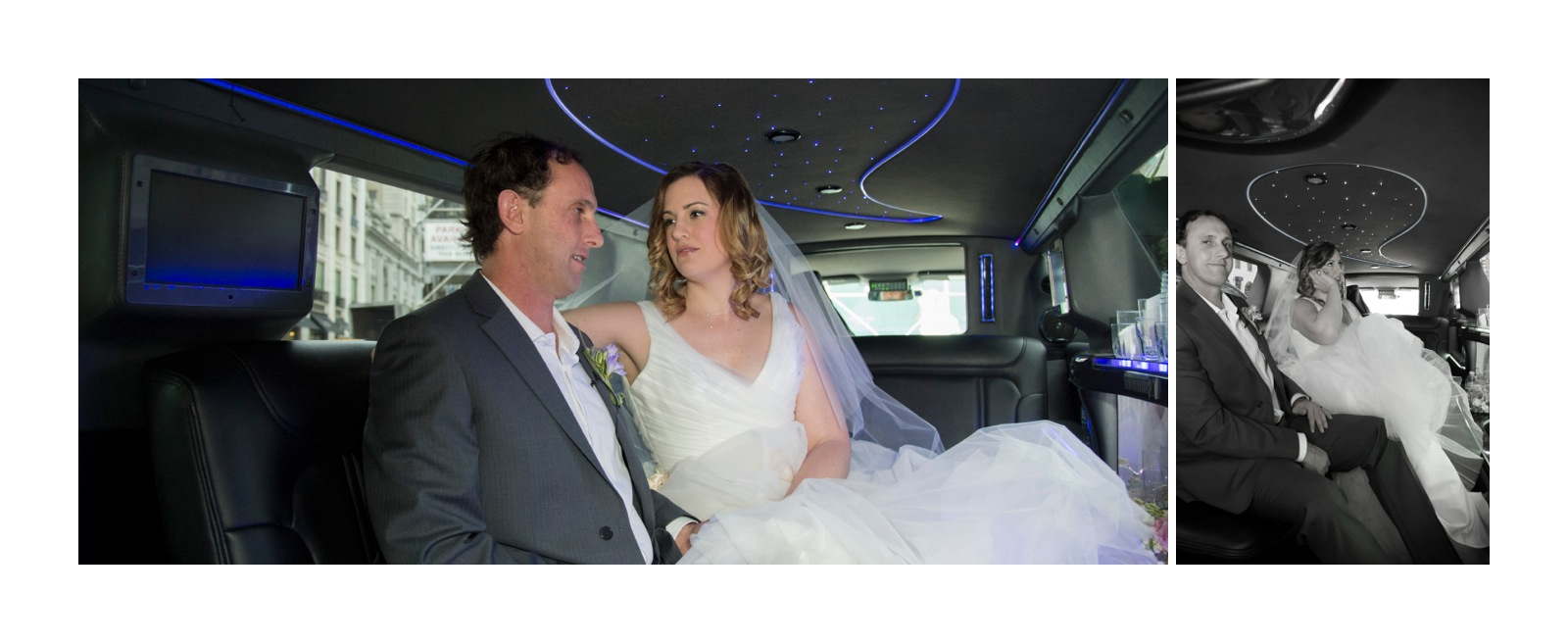 The first look was in the Limo