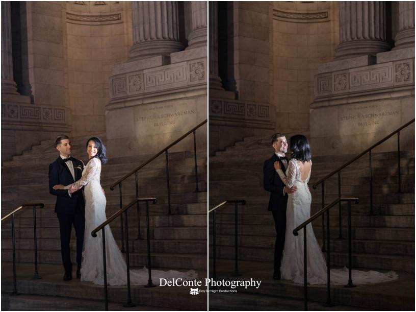 The New York Public Library wedding photos