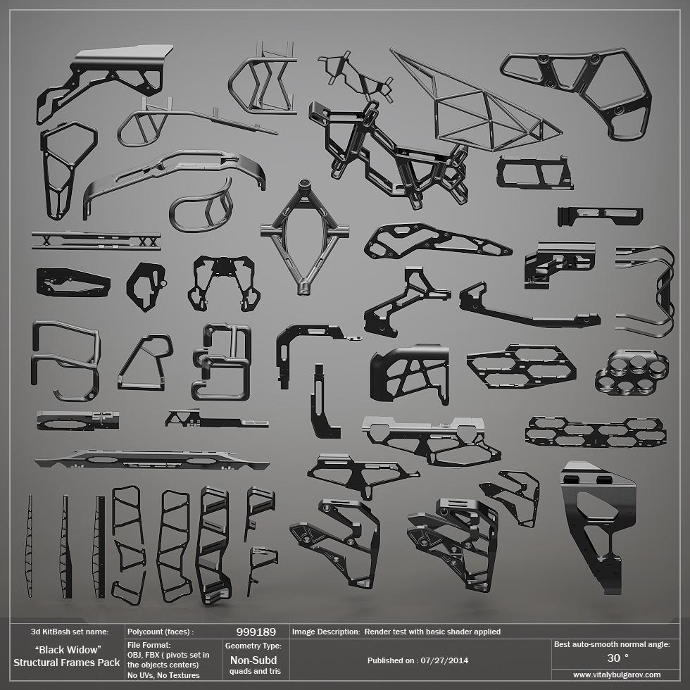 3D KITBASH PRODUCTS — Vitaly Bulgarov