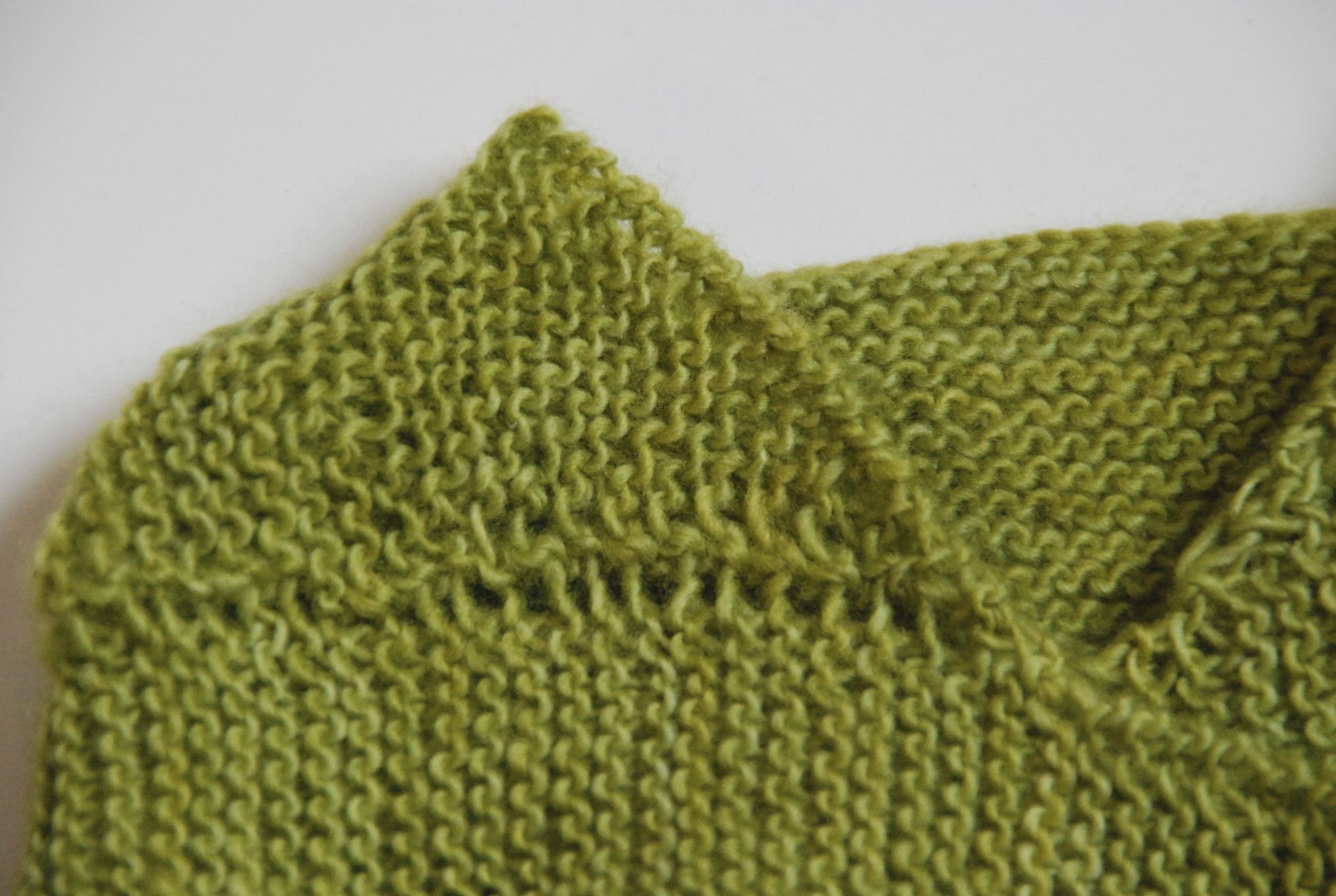 close-up of first design in   What (Else) Would Madame Defarge Knit?