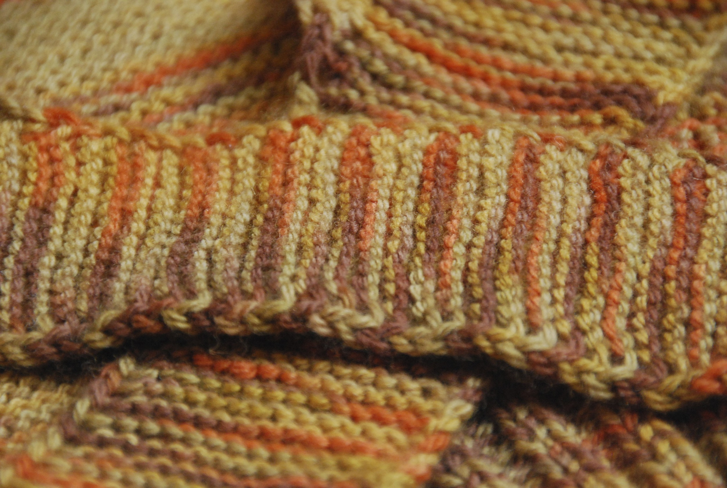 close-up of second design in   What (Else) Would Madame Defarge Knit?