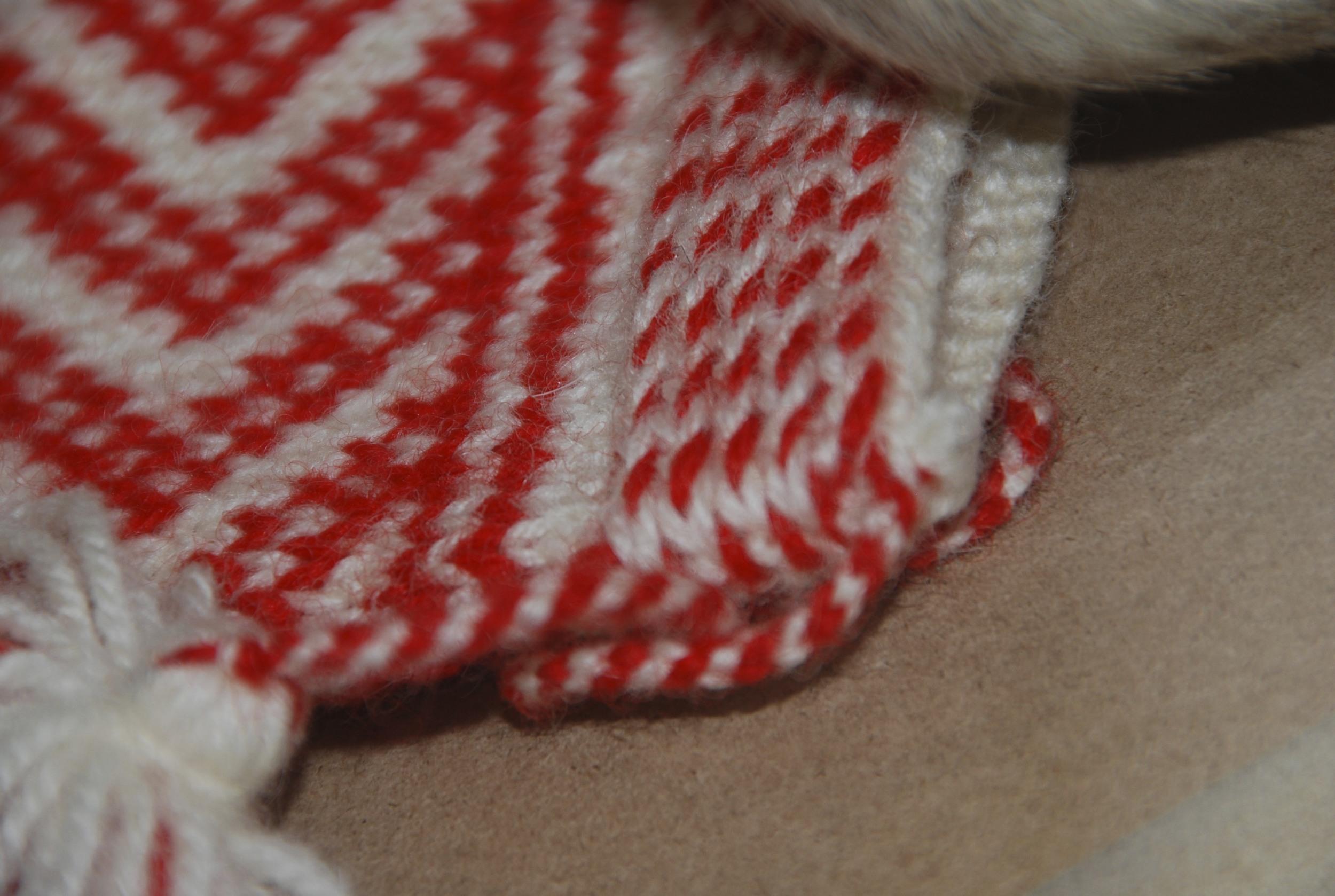 cuff from a Sámi mitten