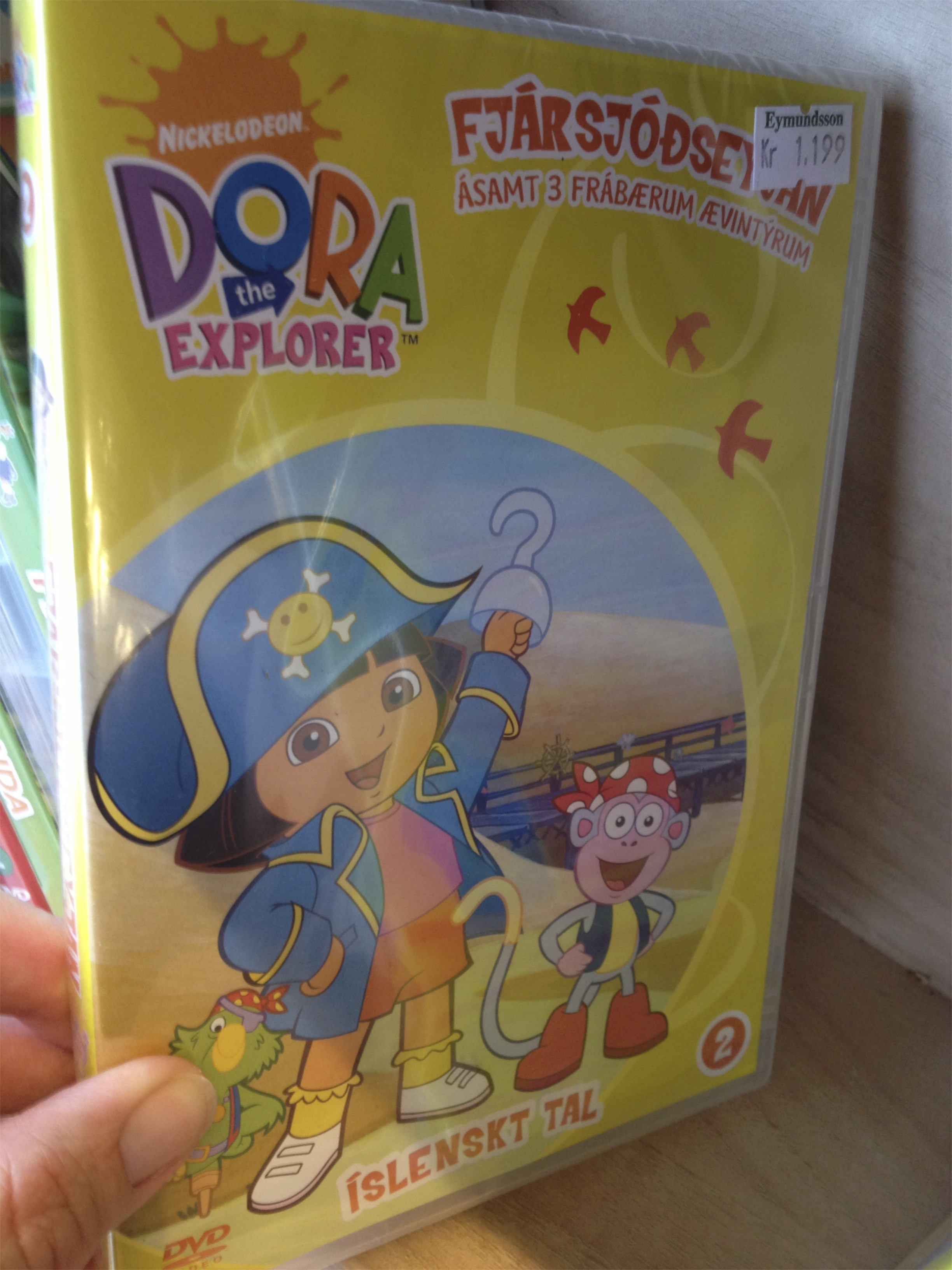 Dora and I had exploring in common.  I guess she's been here, too.