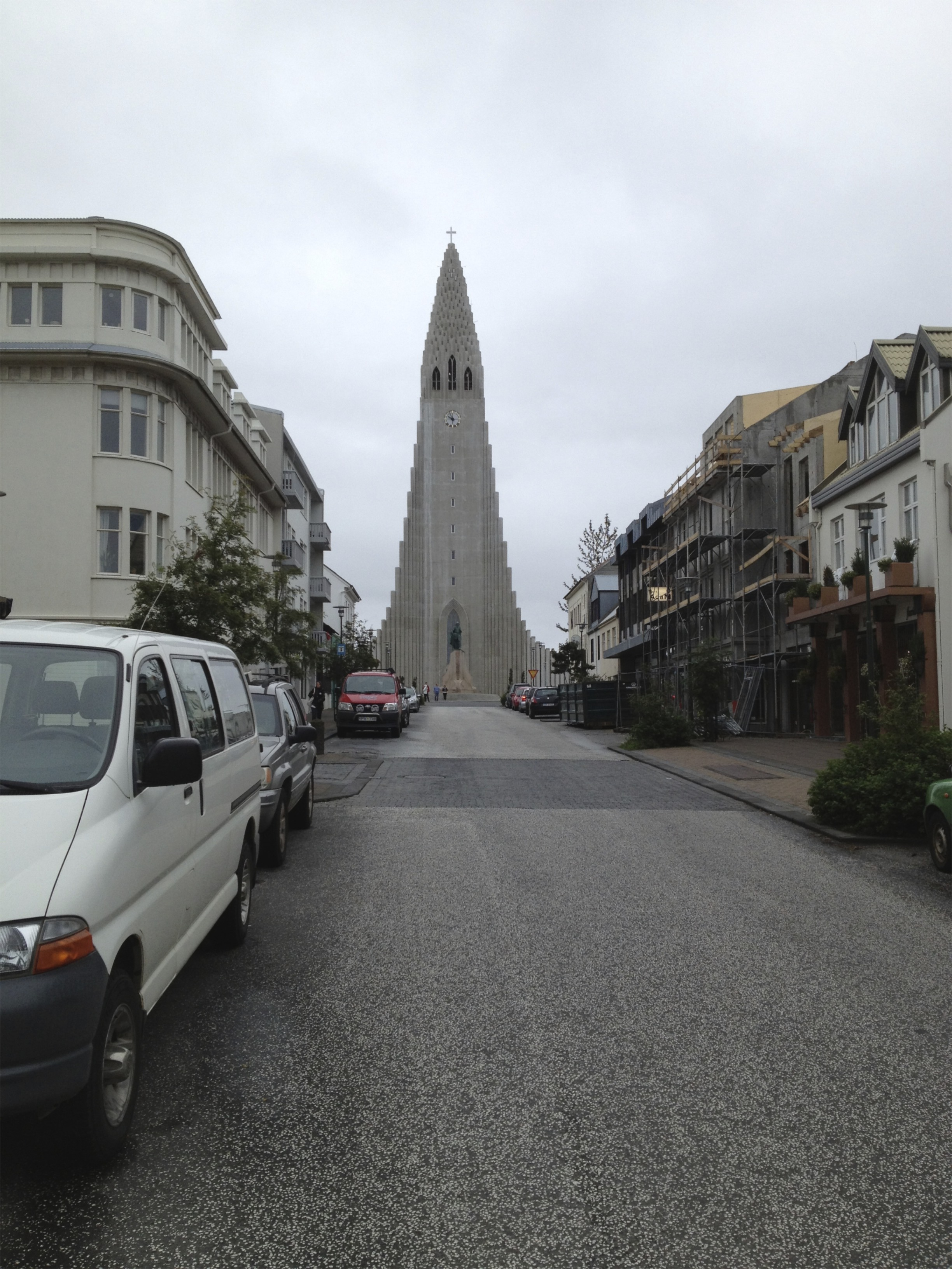 Hallgrímskirkja - the National Lutheran church.