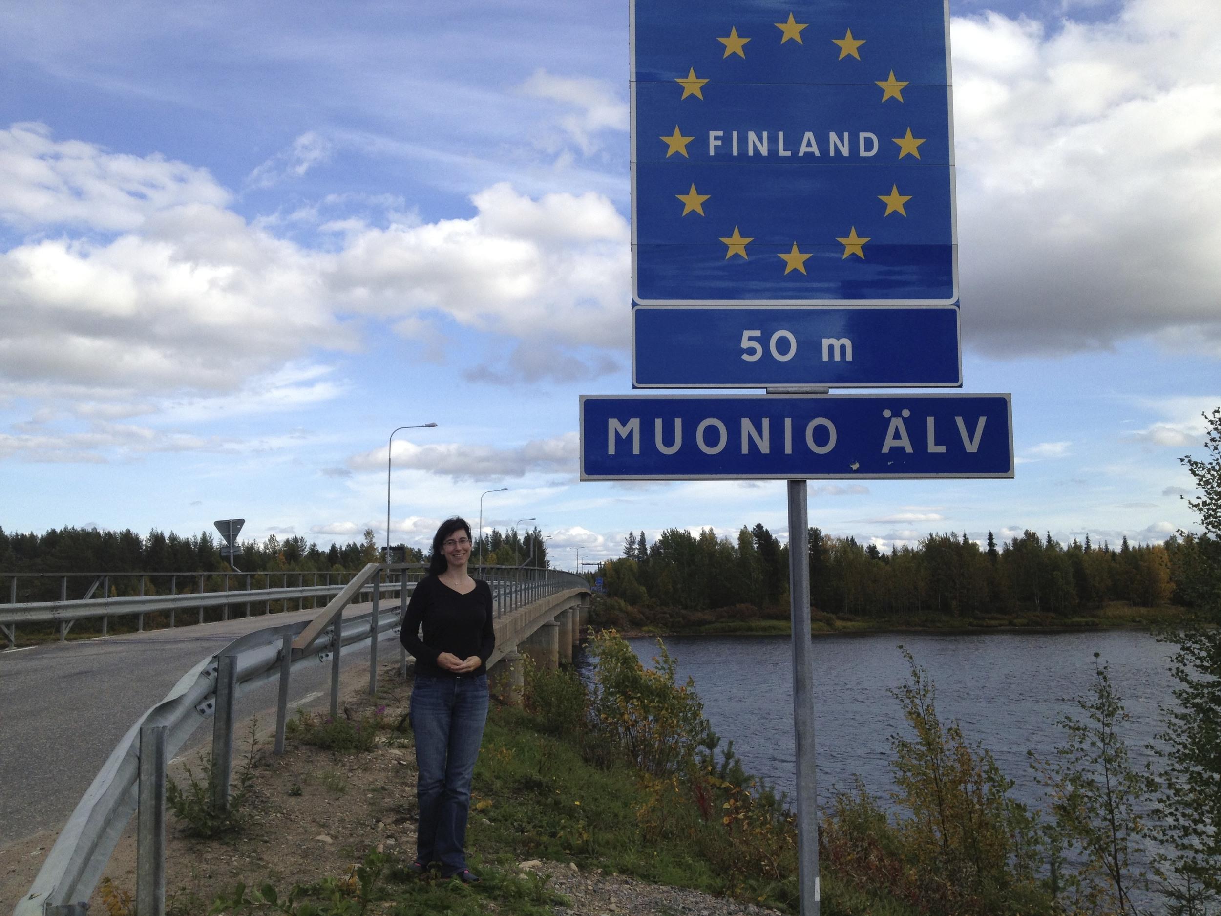 Still on Swedish soil