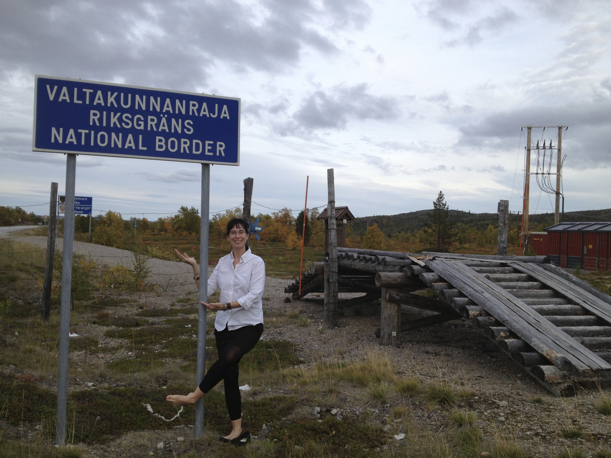 Finnish-Norwegian border