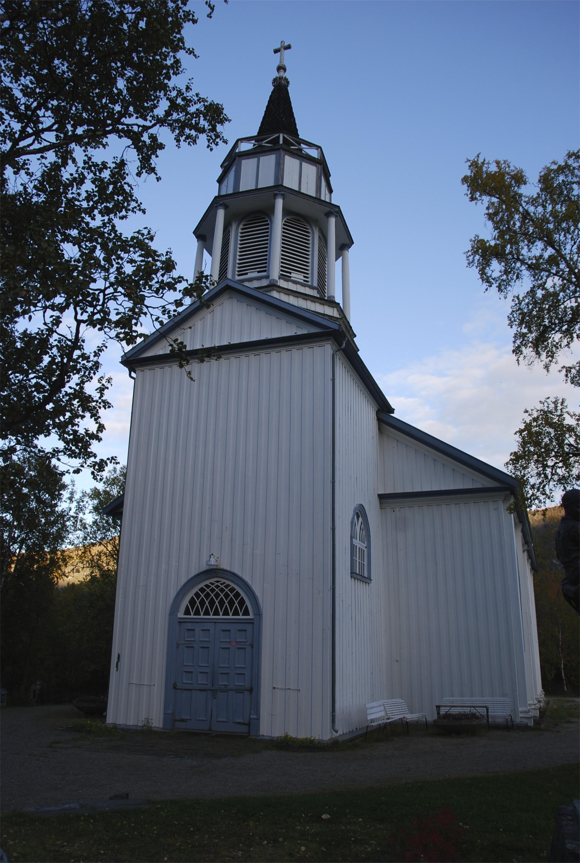 Kåfjord church near Alta, Norway