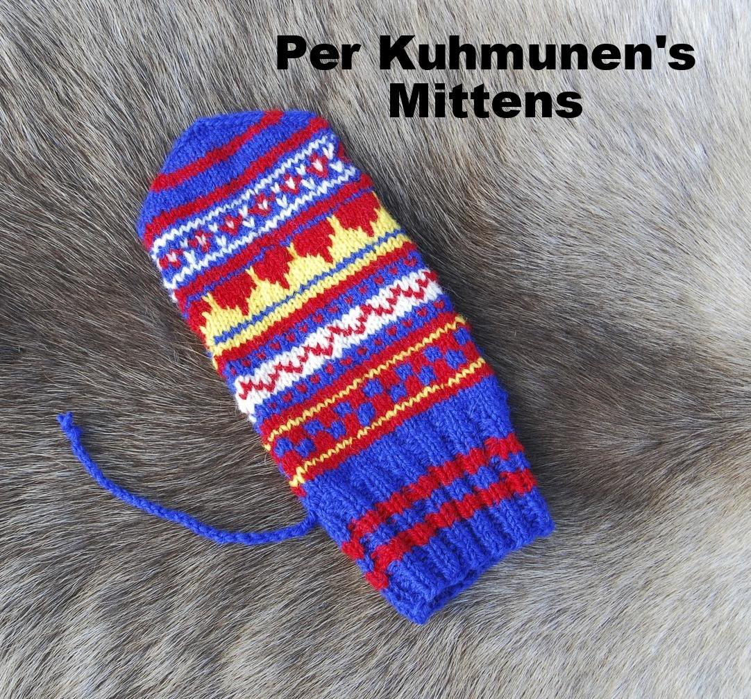 Per Kuhmunen's Mittens: Swedish Sámi Knitted Mittens