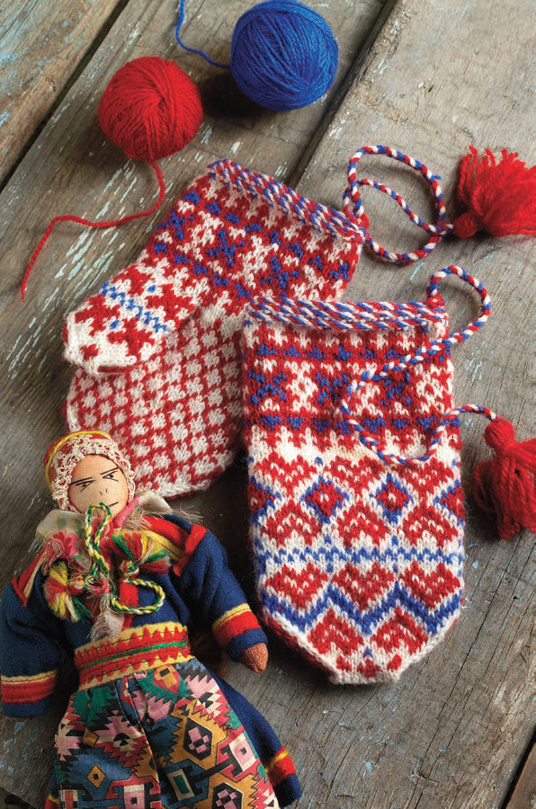 Sámi Children's Mittens
