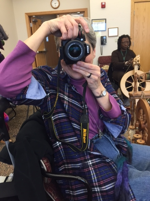 Sister Nancy was snapping lots of pictures. I'm sure some will be up on the  MoonTree website .