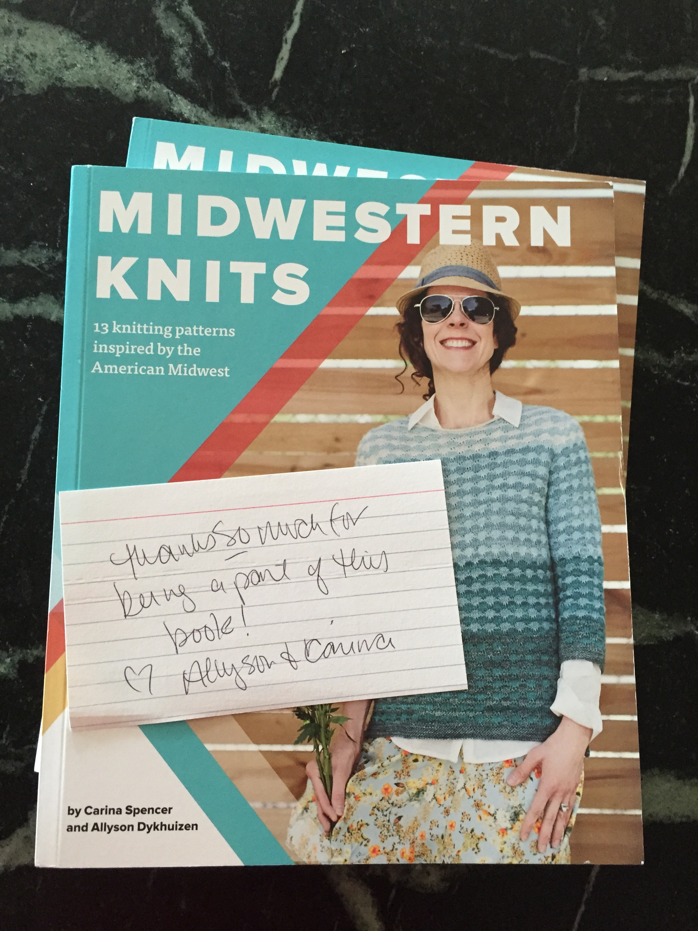My first copies of Midwestern Knits