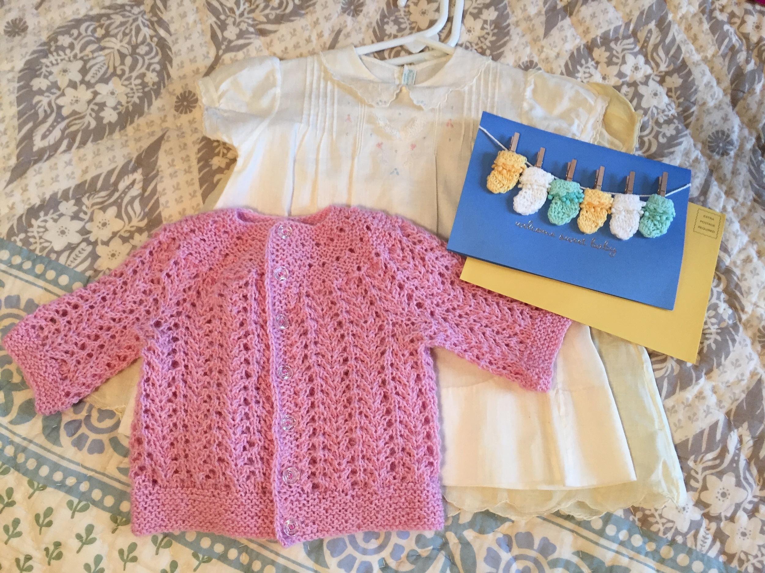Elizabeth Zimmerman's February Baby Sweater pattern