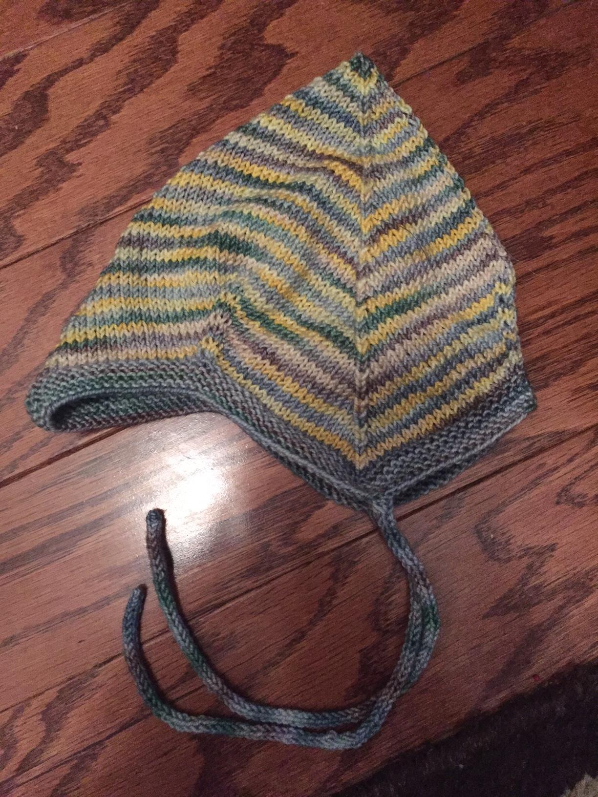 Sweet little Norwegian baby cap