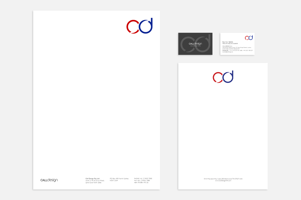 Call Design Visual Identity
