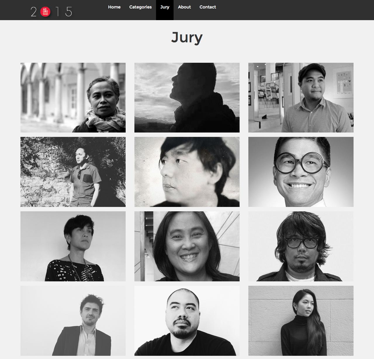 aDA 2015 Jury
