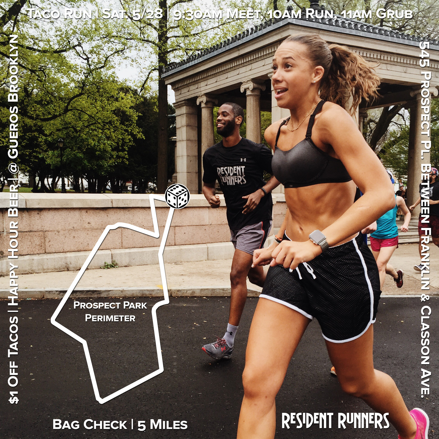 Click here to view the route on MapMyRun.