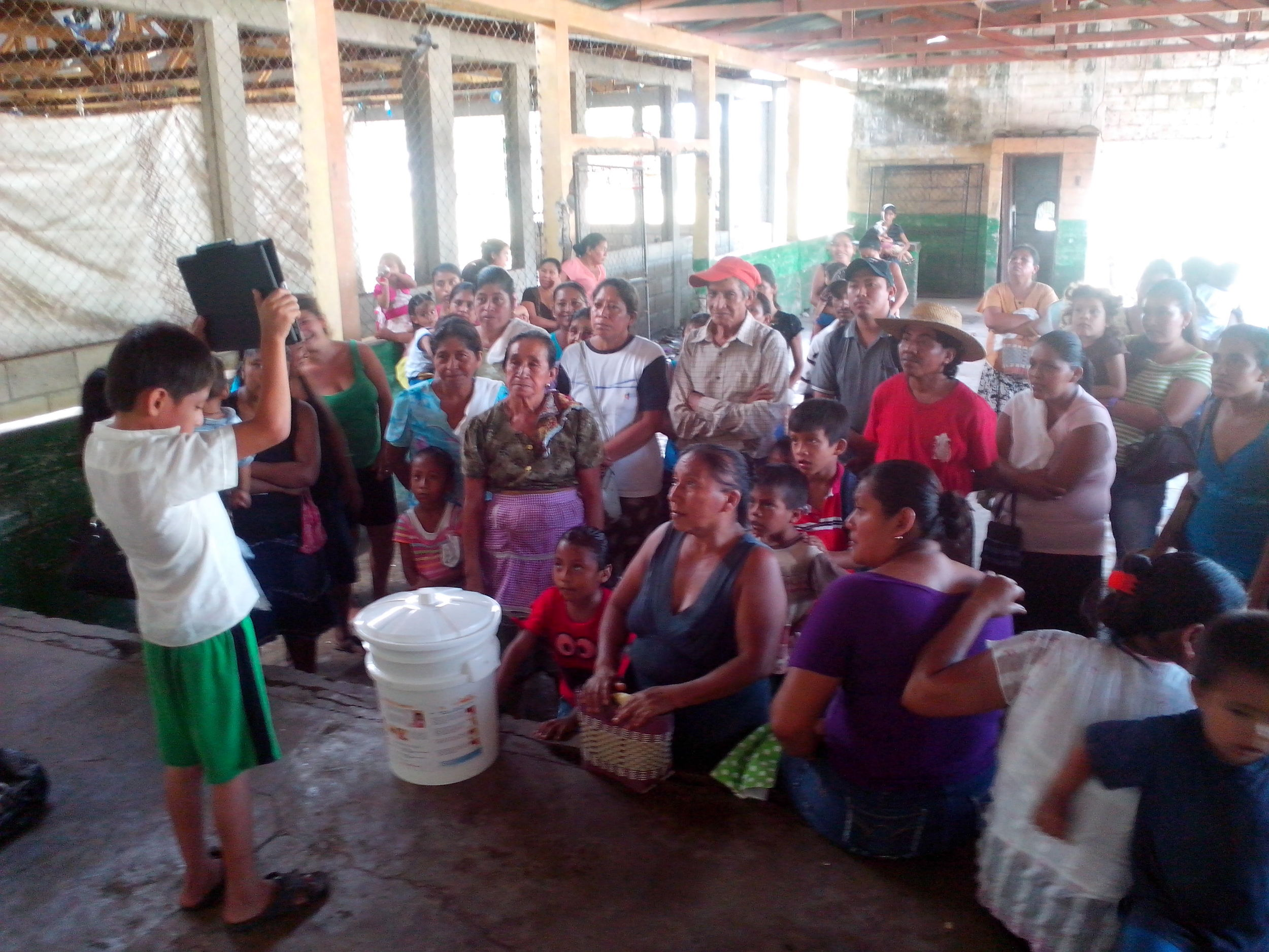 Water Filters provided by WASH to families in the community Las Morenas, Ocos, San Marcos, Guatemala.