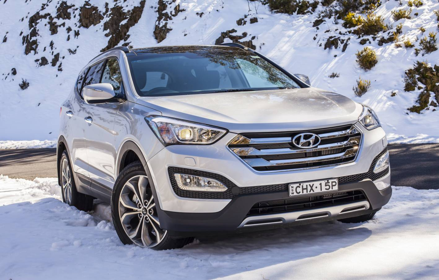 Hyundai Santa Fe - same price as a Falcon; two more years warranty (plus unlimited kays). Hi-tech diesel power. More reliable. Better built. Just as safe. Better value